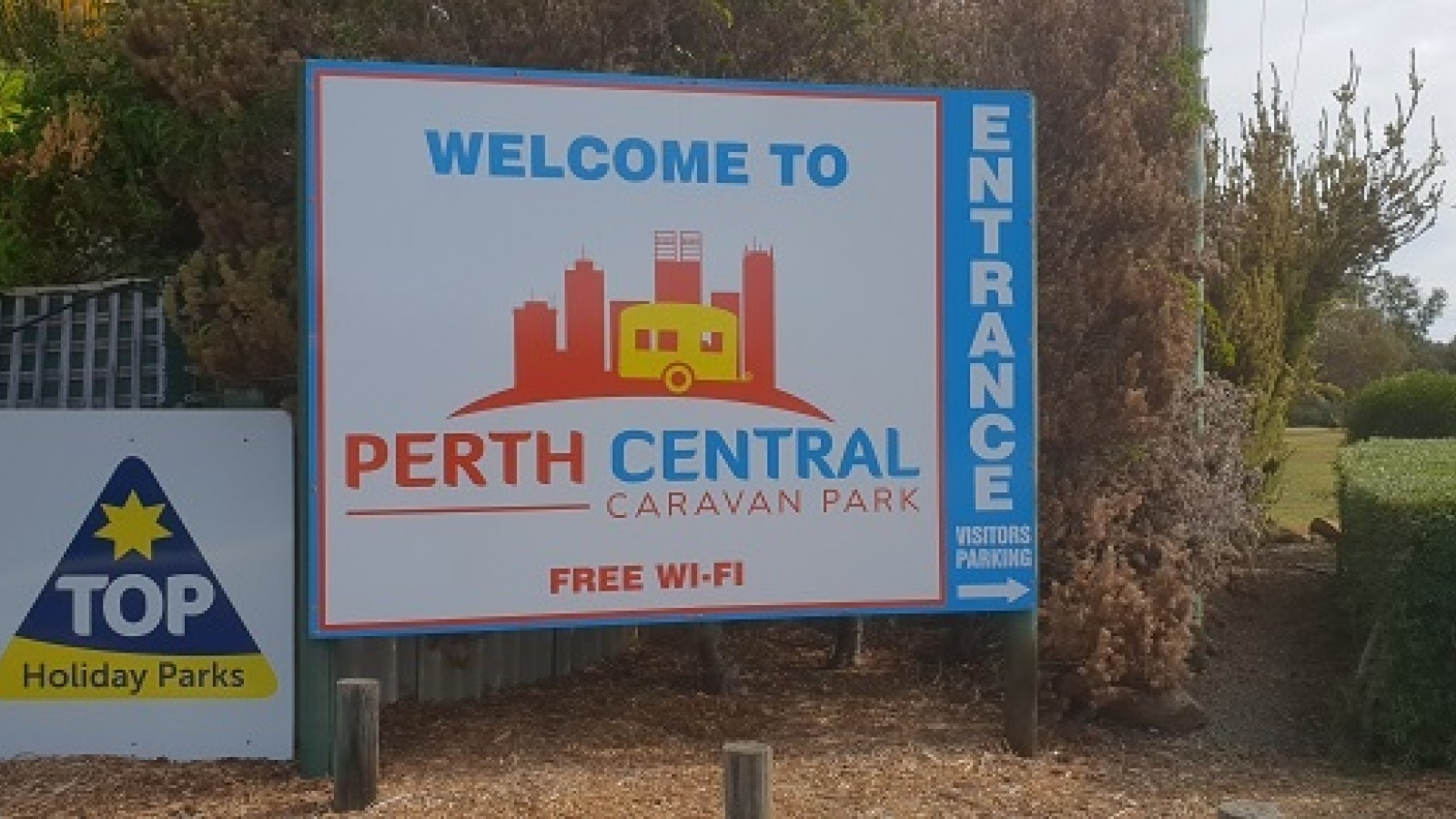Perth Central Caravan Park Holiday Park, Perth, WA