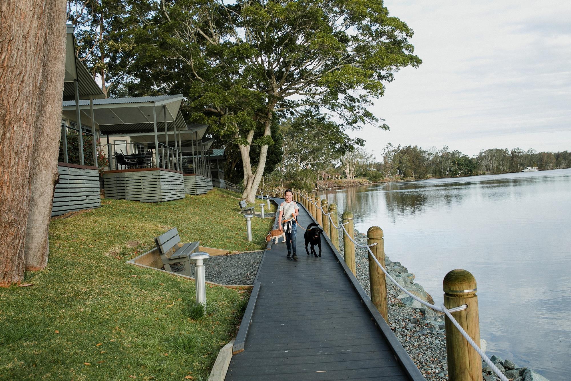 Forster Holiday & Caravan Park, Wallamba River, NSW